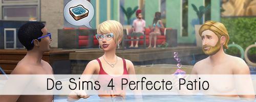 De Sims 4 Perfecte Patio accessoires – Informatie