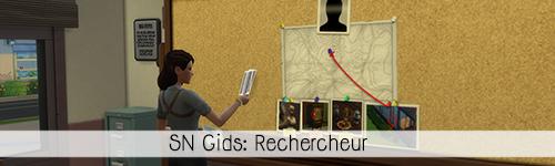 SN Gids: Rechercheur
