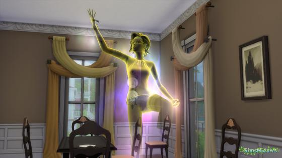 Een overleden Sim terug tot leven wekken met Ambrosia