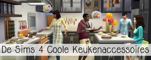 De Sims 4 Coole Keukenaccessoires – Informatie