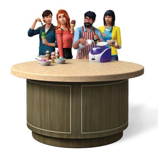De Sims 4 Coole Keukenaccessoires