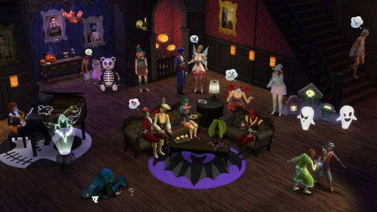 De Sims 4 Griezelige accessoires
