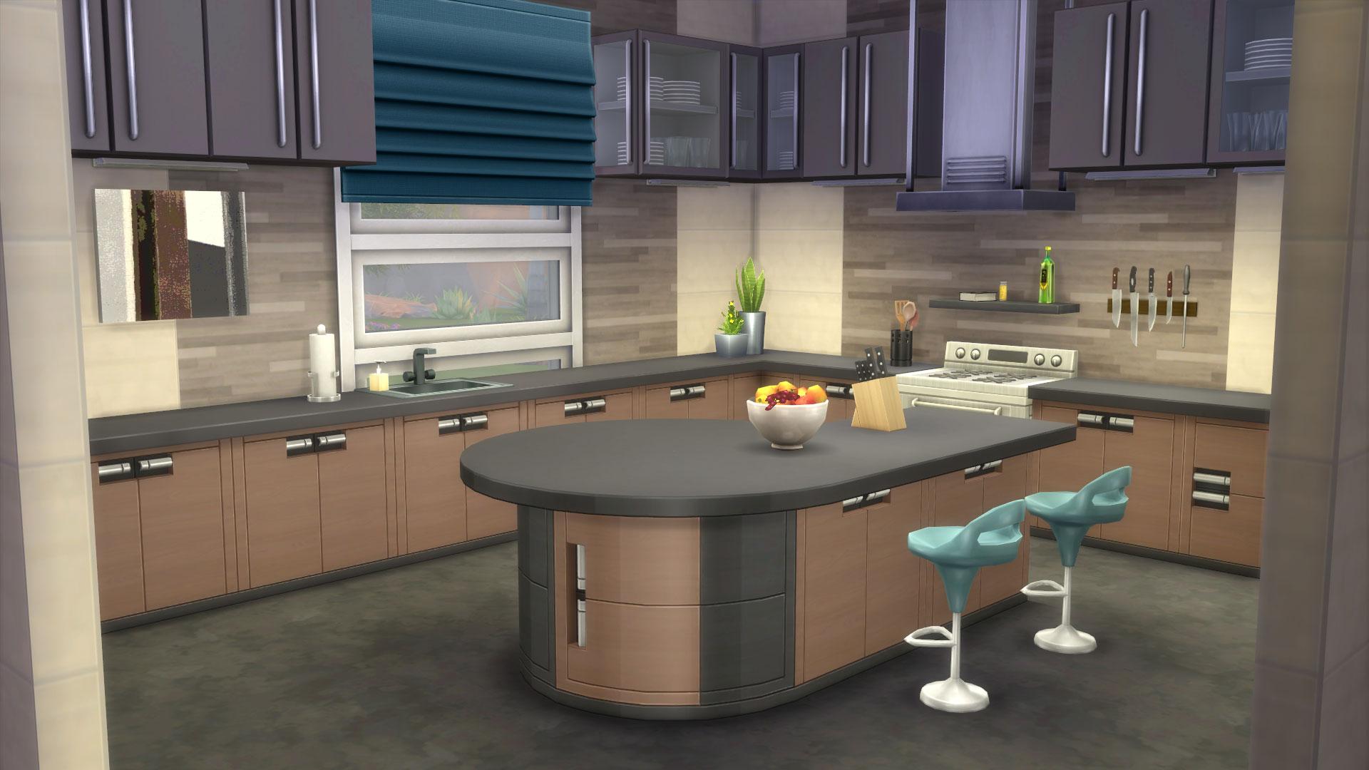 Community blog zo maak je een prachtige keuken in de sims for Eigen keuken bouwen