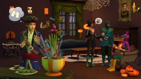 De Sims 4 Griezelige Accessoires vanaf nu verkrijgbaar op de console