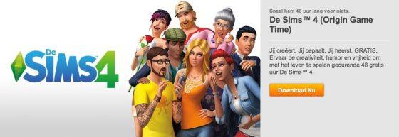 De Sims 4 48 uur lang gratis te proberen met Origin Game Time!