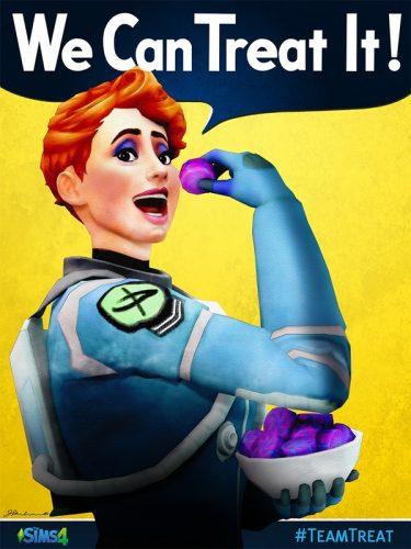 De Sims 4: Twee nieuwe Trick of Treat posters