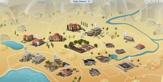De Sims 4: Gekleurde wereldkaarten in komende update!