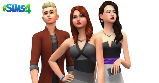 De Sims 4: Promo render