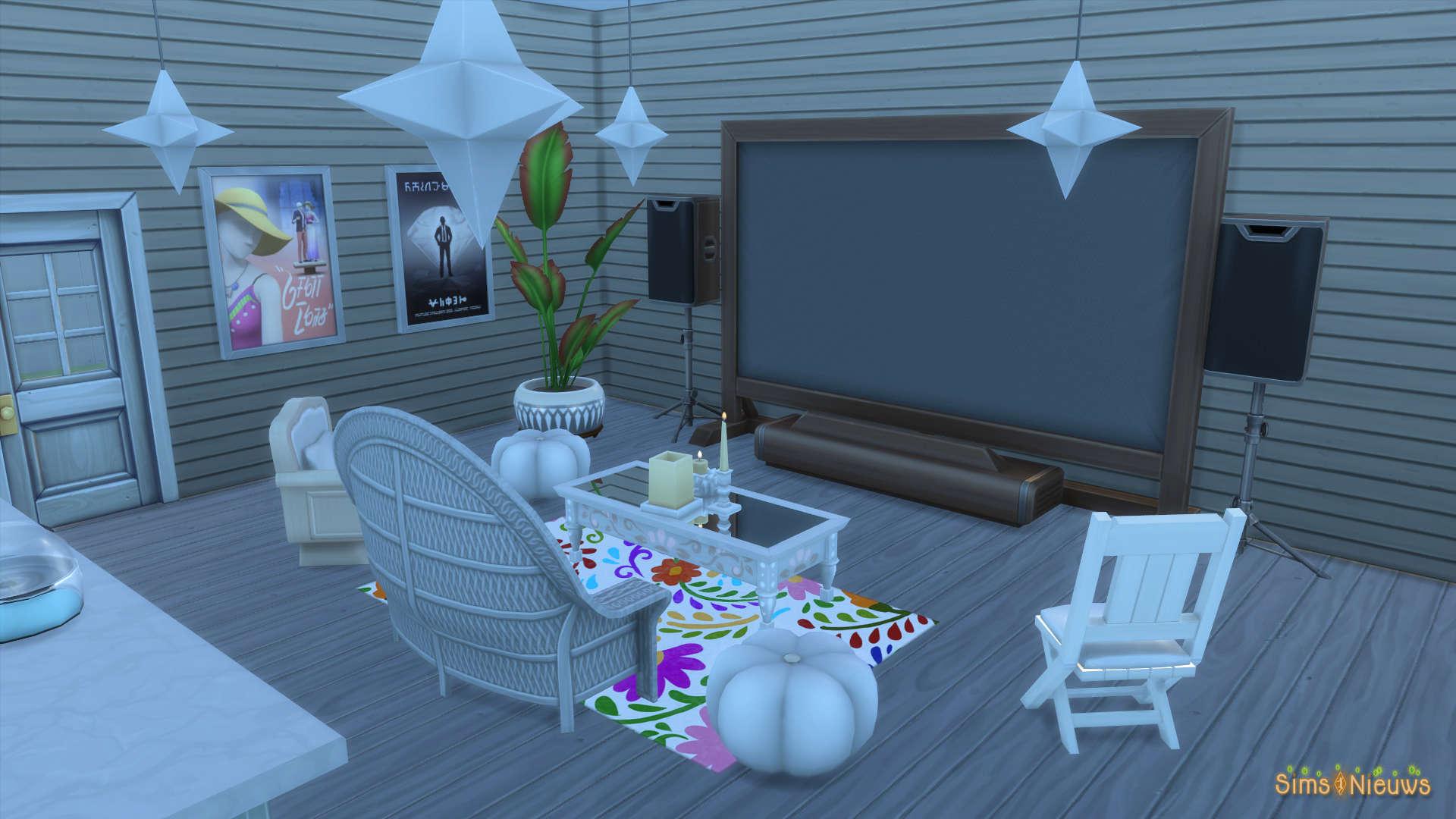 SN Review: De Sims 4 Filmavond accessoires: Koopmodus