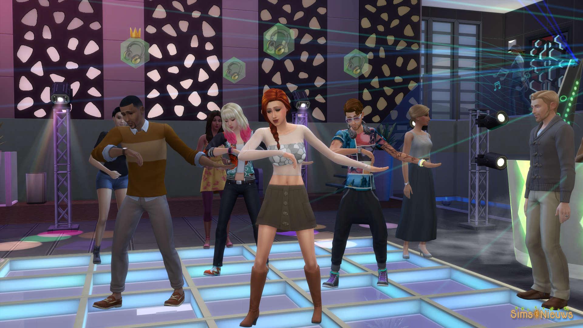 De Sims 4 Beleef het Samen: Clubs