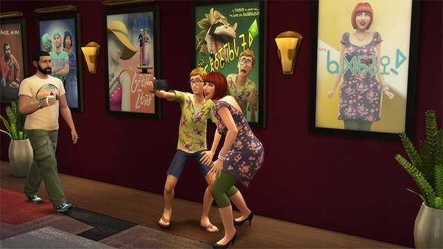 Community blog versier het huis met gratis filmposters die nu beschikbaar zijn in de sims 4 - Versier het huis ...