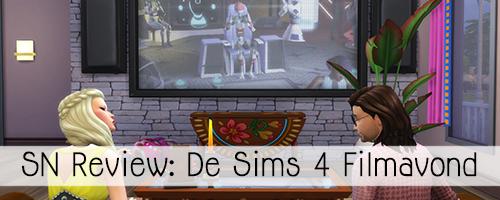 SN Review: De Sims 4 Filmavond accessoires