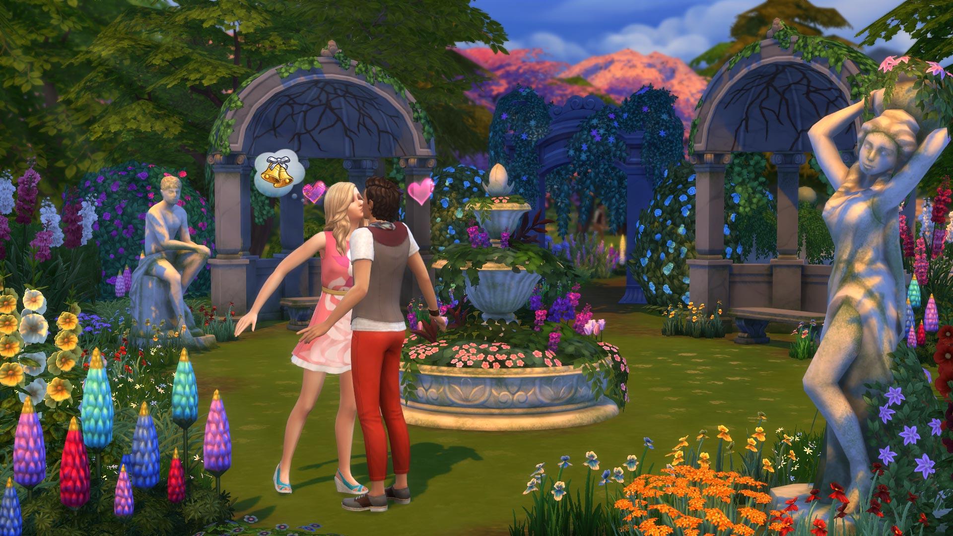 De Sims 4 Romantische Tuinaccessoires