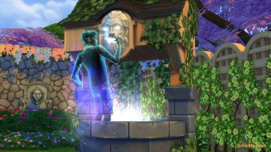 SN Gids: Geesten - Leven van een Sim herstellen via Fluisterende Wensput