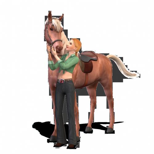 Straks misschien ook paarden in De Sims 4 net zoals in De Sims 3 Beestenbende?