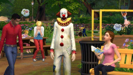 Community blog: Houd je ogen open voor de tragische clown, nu beschikbaar in De Sims 4