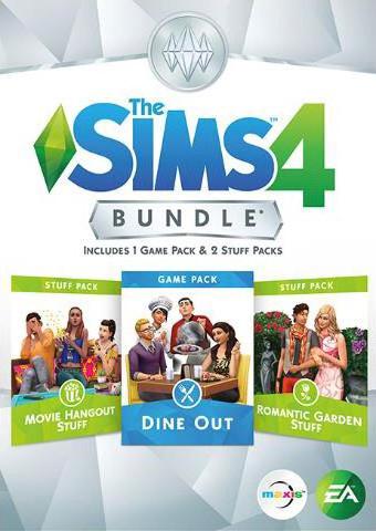 Derde Bundel pack onthult De Sims 4 Uit Eten game pack