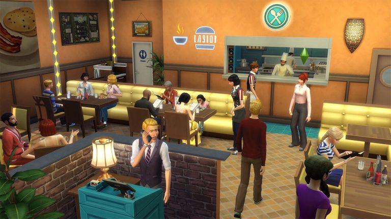 De Sims 4 Uit Eten