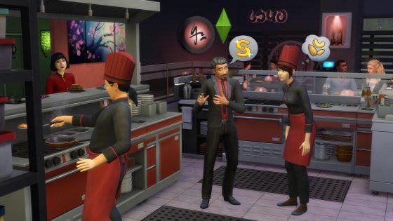 De Sims 4 Uit Eten uitgebracht op de PlayStation 4 en Xbox One