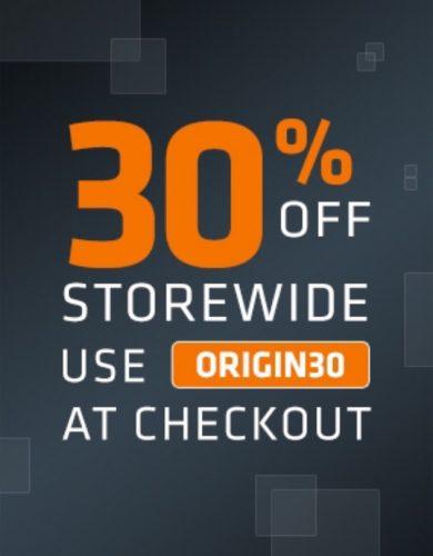 Origin: 30% korting