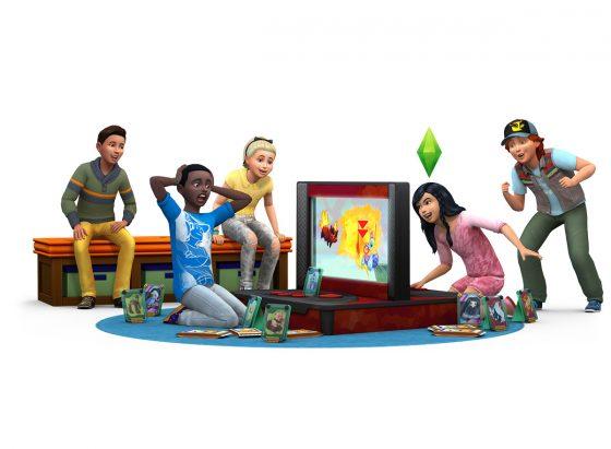 De Sims 4 Kinderkamer accessoires: Nieuwe render