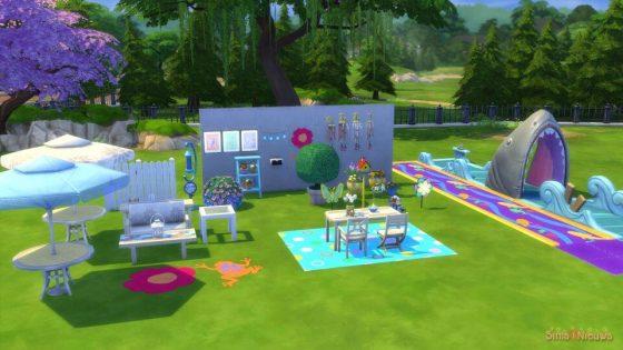 SN Review: De Sims 4 Achtertuin Accessoires - Koopmodus