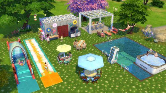 Galerie in de schijnwerper: 5 kavels uit De Sims 4 Achtertuin Accessoires waar we dol op zijn! - Community Pool