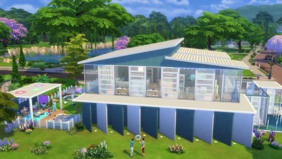 Galerie in de schijnwerper: 5 kavels uit De Sims 4 Achtertuin Accessoires waar we dol op zijn! - Modern Comfort