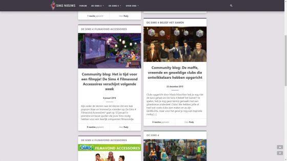 Sims Nieuws: Archief