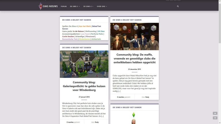Sims Nieuws: Firefox bug