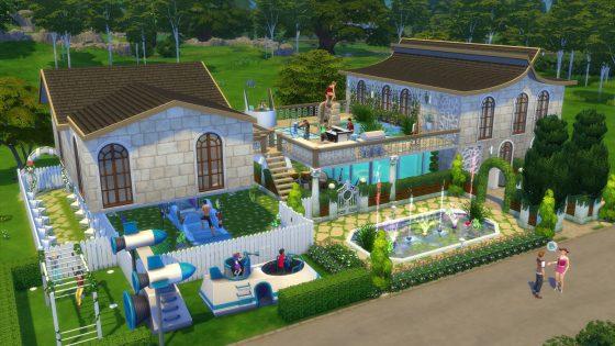 Galerie in de schijnwerper: 5 kavels uit De Sims 4 Achtertuin Accessoires waar we dol op zijn! - The Summer Home