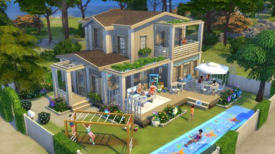 Galerie in de schijnwerper: 5 kavels uit De Sims 4 Achtertuin Accessoires waar we dol op zijn! - Vacation House