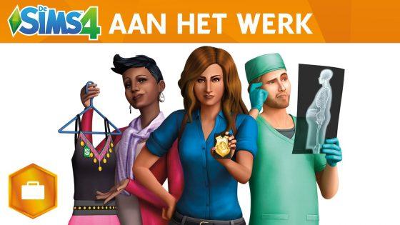 De Sims 4 Aan het Werk Trailer