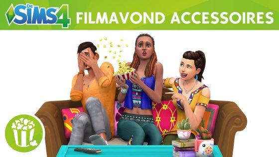 De Sims 4 Filmavond accessoires aangekondigd!