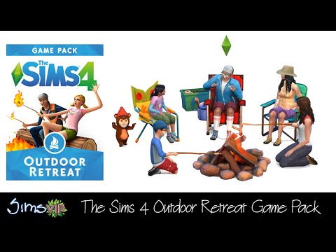 De Sims 4: Outdoor Retreat Game Pack