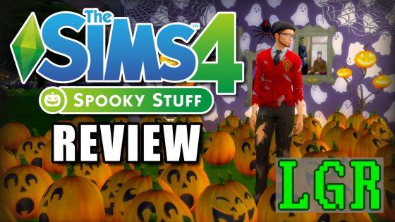 LGR: De Sims 4 Griezelige accessoires review