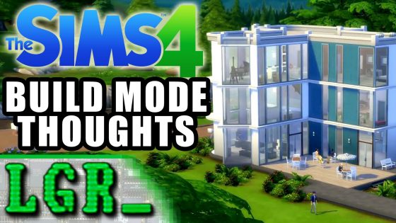 LGR – The Sims 4 Build Mode Gameplay Revealed