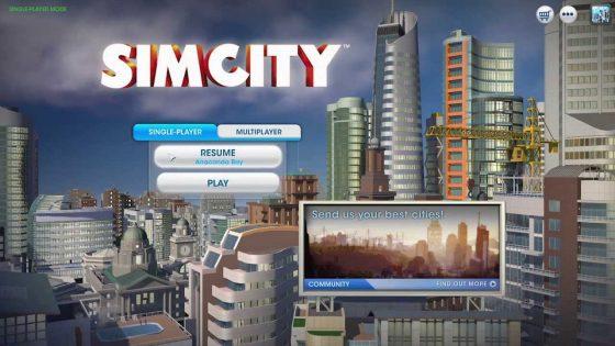 SimCity: Vanaf nu offline spelen mogelijk!