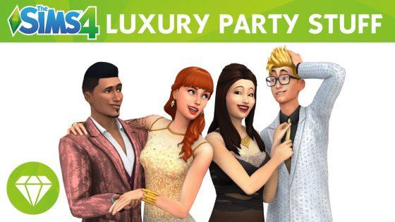 De Sims 4 Luxe Feestaccessoires: Officiële trailer