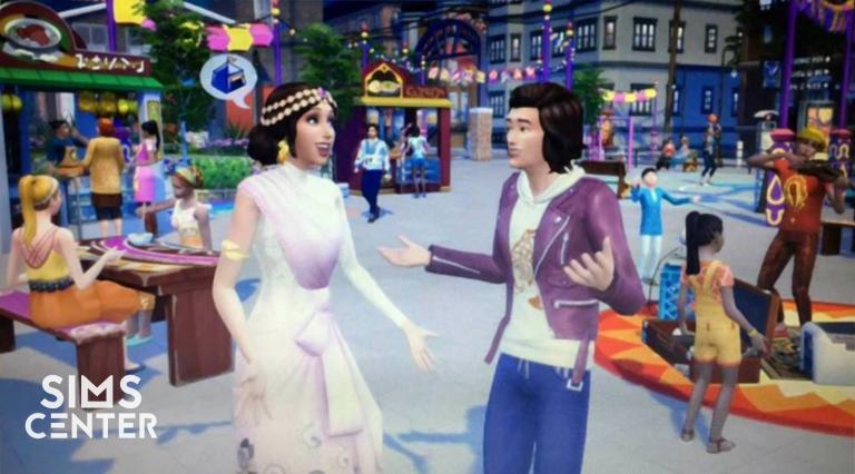 De Sims 4 Stadsleven: Eerste afbeelding