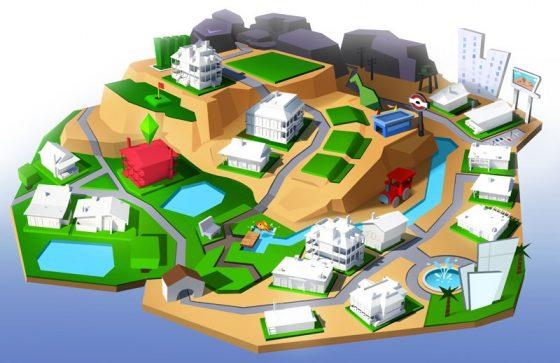 De Sims 4: Concept Art van Emily Zeinner