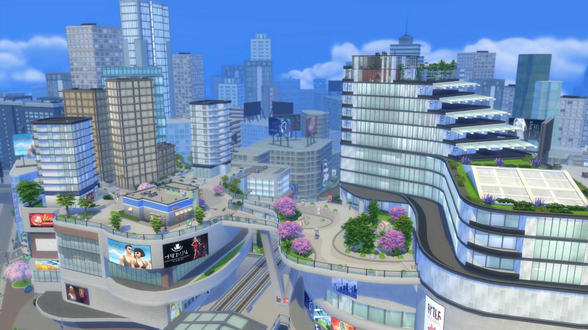 Community blog: Hoe wij San Myshuno uit De Sims 4 Stedelijk Leven ...
