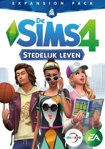 De Sims 4 Stedelijk Leven box-art