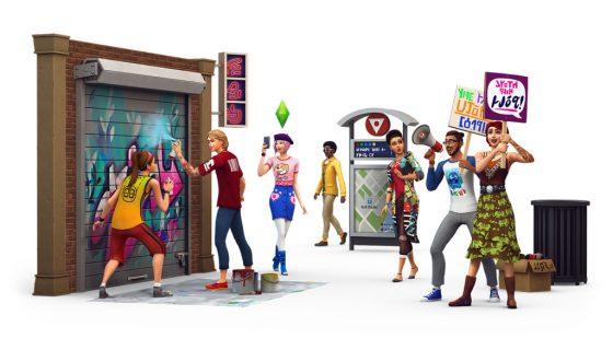 De Sims 4 Stedelijk Leven