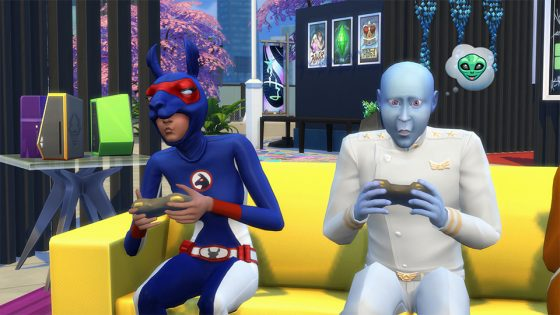 De Sims 4 Stedelijk Leven: 4 nieuwe festival screens