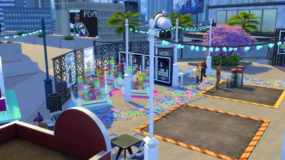 De Sims 4 Stedelijk Leven: GeekCon