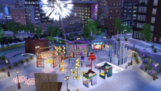 De Sims 4 Stedelijk Leven: Humor en Hippigheidfestival