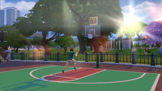 De Sims 4 Stedelijk Leven: Basketbal