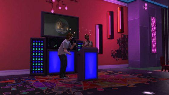 De Sims 4 Stedelijk Leven: Karaoke