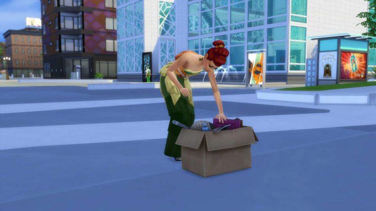 De Sims 4 Stedelijk Leven Collecties: Sneeuwbollen